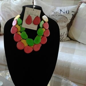 Taggart necklace & Earring